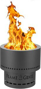 1. HY-C FG-16 Flame Genie Portable Smoke-Free Wood Pellet Fire Pit
