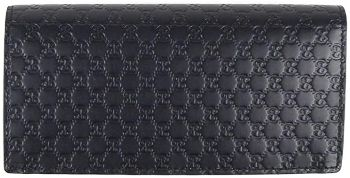 #1. Men's Navy Blue Microguccissima wallet 544479
