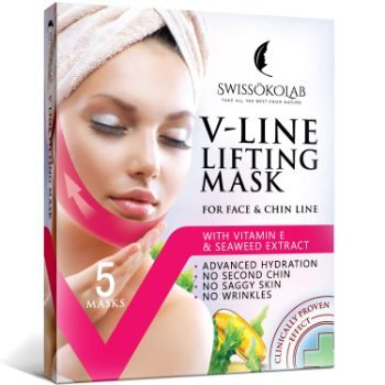 #1. V Line Lifting Mask Chin Up Patch