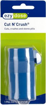 10. Ezy Dose Pill Crusher and Grinder (Blue)