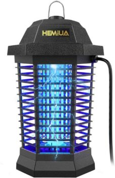 10. HEMIUA Bug Zapper Pro Outdoor Patio Mosquito Killer