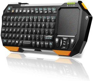 10. Mini Wireless Keyboard with Touchpad