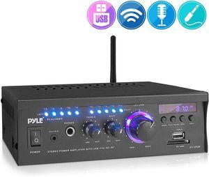 10. Wireless Bluetooth Home Stereo Amplifier