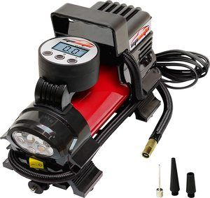 11. EPAUTO 12V DC Portable Air Compressor Pump