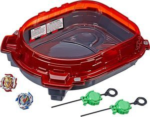 2. BEYBLADE Burst Turbo Slingshock Rail Rush Battle Set Game
