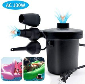 2. Portable Air Pump with 3 Nozzles