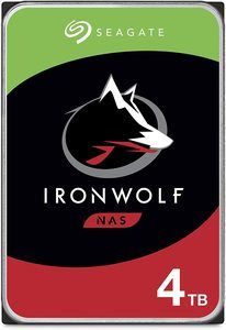 2. Seagate IronWolf 4TB NAS Internal Hard Drive HDD