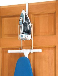 2. Whitmor Wire Over The Door Ironing Caddy