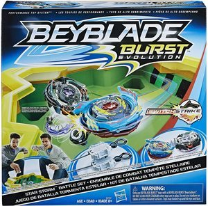 3. Beyblade Burst Evolution Star Storm Battle Set Game