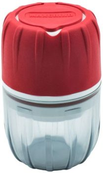 3. MAXGRIND™ Pill Crusher and Grinder (Red)