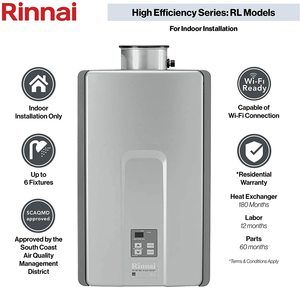 3. Rinnai RL94IN, 9.4 GPM, RL94iN-Natural 9.4 GPM