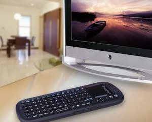 3. iPazzPort Wireless Mini Handheld Keyboard