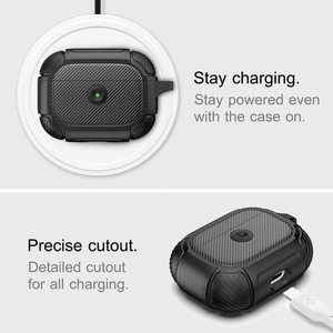 4. AirPods Pro Case, Full-Body Rugged Protective Cover