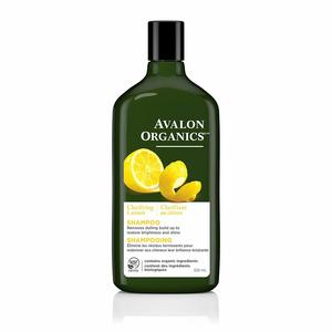4. Avalon Organics Clarifying Lemon Shampoo