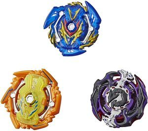 4. BEYBLADE Burst Rise Hypersphere Battle Guardians 3-Pack