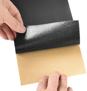 4. Leather Repair Tape, Self-Adhesive Leather Repair Patch, Black, 4 X 120 Inch