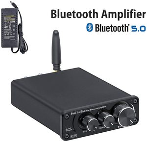 5. Fosi Audio BT10A Bluetooth 5.0 Stereo Audio Amplifier