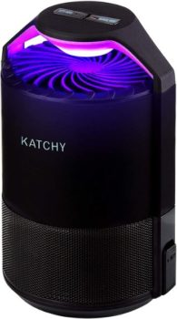 5. KATCHY Indoor Insect Trap (Black)