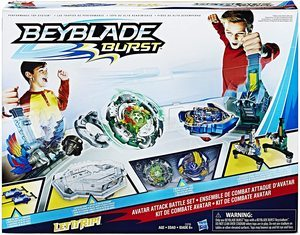 6. BEYBLADE Burst Avatar Attack Battle Set Game