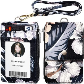 6. ELV Badge Holder with Zippe