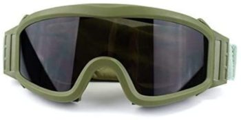 6. Fouos Military Airsoft Goggles, Anti-Fog