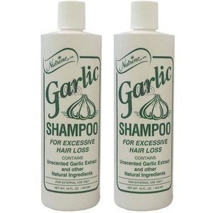 6. Nutrine Garlic Shampoo Unscented 16oz