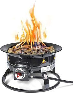 7. Outland Firebowl 823 Outdoor Portable Propane Gas Fire Pit