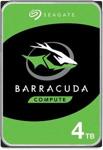 7. Seagate BarraCuda 4TB Internal Hard Drive HDD