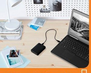7. WD 1TB Elements Portable External Hard Drive