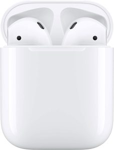 8. Apple AirPods 2 with Charging Case – White
