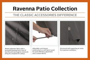 8. Classic Accessories Ravenna Water-Resistant 34 Inch