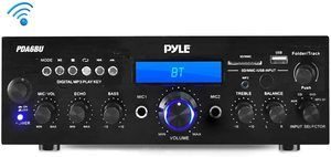 8. Pyle PDA6BU.5 Compact Bluetooth Stereo Amplifier
