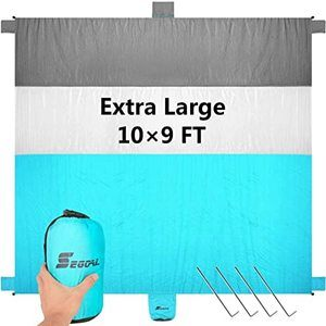 8. SEGOAL Sand Free Beach Blanket for 7 Adults