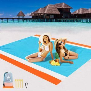 9. AISPARKY Beach Mat for 4-7 Persons