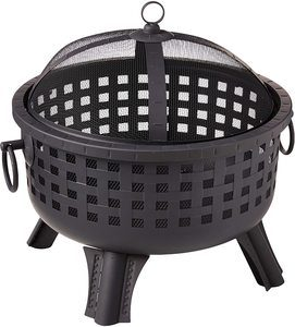 9. Landmann 26364 23--Inch Savannah Garden Light Fire Pit