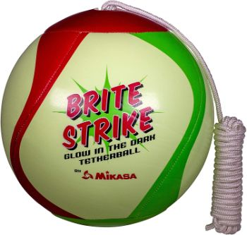 9. Mikasa Glow in The Dark Outdoor Tetherball