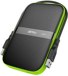 9. Silicon Power 1TB Black Rugged Portable External Hard Drive