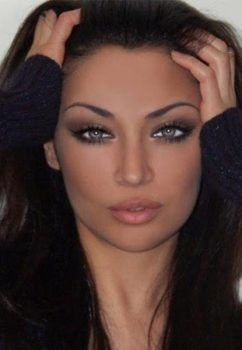 2. Claudia Lynx Most Beautiful Iranian Women