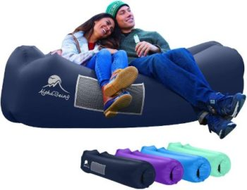 #1 AlphaBeing Inflatable Lounger, Camping, Hiking