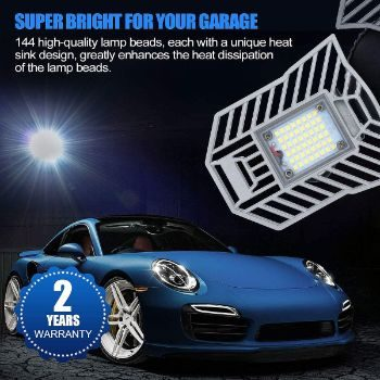 #1 LED Garage Light Tanbaby Garage Light LED