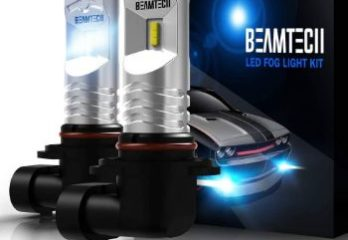 #1. BEAMTECH H10 Super Bright Led Fog Light Bulb
