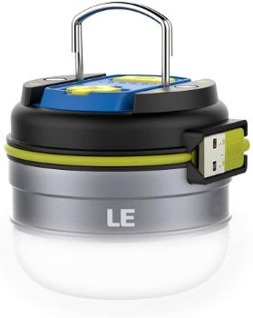 #1. LED Rechargeable Camping Lantern, 280LM