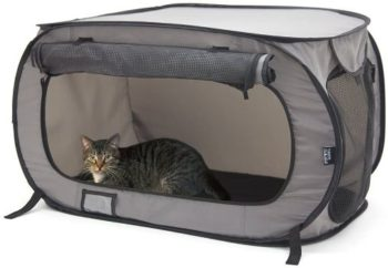 #10. SPORT PET Pop Open Cat Kennel