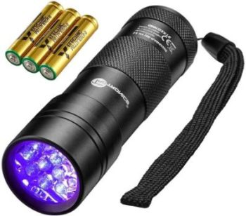 #10. TaoTronics Black Light, Ultra Lightweight