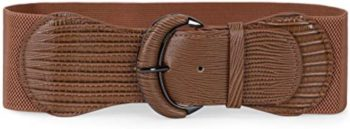 #11. JASGOOD Women Waist Belt Stretchy Wide