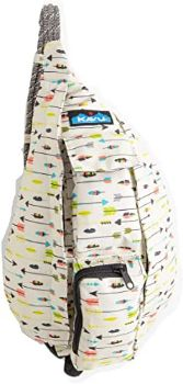 #2 KAVU Mini Rope Bag Crossbody Polyester Sling Backpack