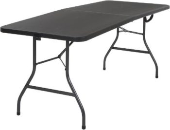 #2. Cosco Deluxe Fold-in-Half Molded Table