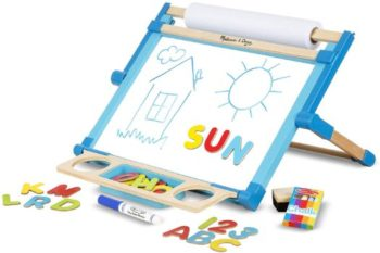 #3 Melissa & Doug Double-Sided Tabletop Easel