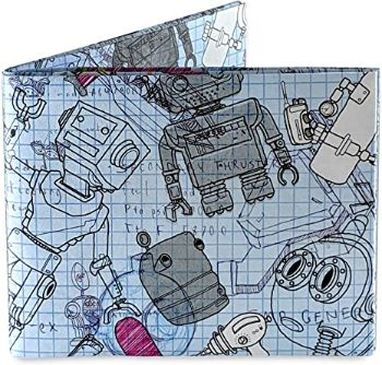 3. Robots Mighty Wallet Tyvek Wallet