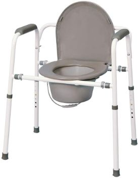 #3.MedPro Homecare Height Adjustable Commode Chair …